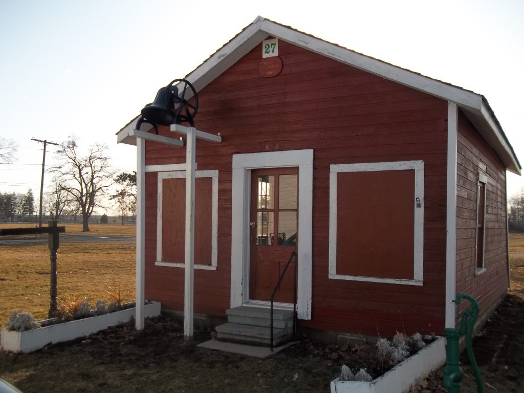 This rare 1846 one-room schoolhouse has been saved and restored to demonstrate the conditions of our ancestor's educational environment as children in the mid-nineteenth century. It was given the Most Improved Historic One-room Schoolhouse award by the Michigan One-room Schoolhouse Association for 2012.