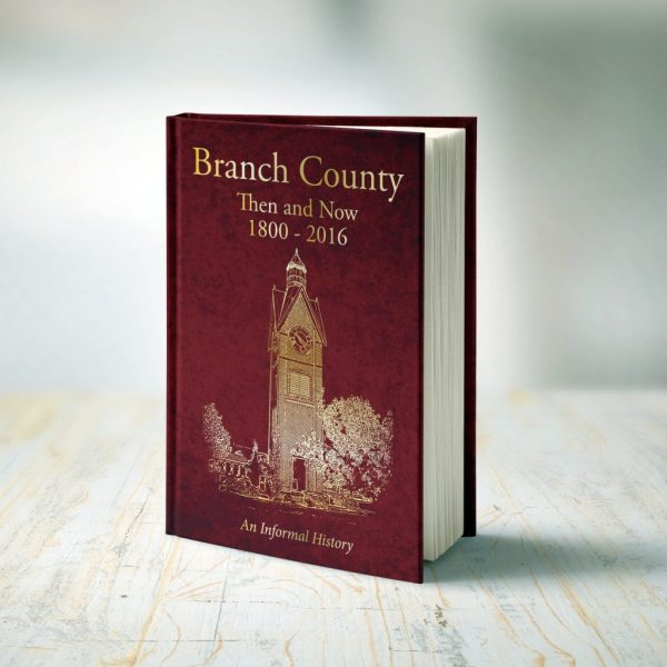 THE NEW BRANCH COUNTY HISTORY BOOK